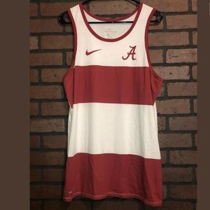 The Nike Tee Tank Top Alabama Crimson Tide